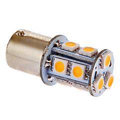 BA15S (1156) Carro Branco Quente 3W SMD 5050 3000-3500 Luz de Leitura
