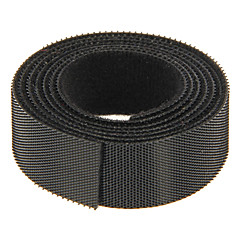 cheap Cable Organizers-Magic Tape Black 100m*20mm for managing wire