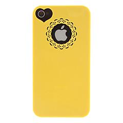 Недорогие Кейсы для iPhone 4s / 4-Кейс для Назначение iPhone 4/4S Apple Кейс на заднюю панель Твердый ПК для iPhone 4s/4