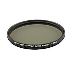 fotga® pro1-d 67mm ultratunn mc multibelagda cpl cirkulär polariserande lins filter