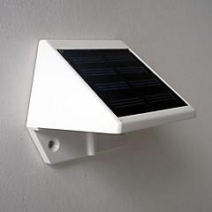 preiswerte Außenleuchten-1pc Wandleuchte / Gartenleuchte 4 LED-Perlen Hochleistungs - LED Dekorativ Kühles Weiß