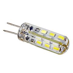 G4 LED-kohdevalaisimet 24 ledit SMD 3014 Lämmin valkoinen Kylmä valkoinen 105lm 6000K DC 12V