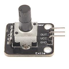 お買い得  アクセサリー-電子ビルディングブロック式ボリュームアナログロータリーエンコーダー·ノブモジュールモジュール