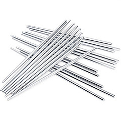 cheap Tableware-High Quality Non-slip Stainless Steel Chopsticks(3 Pairs)