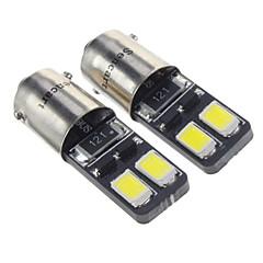 voordelige LED-autolampen-BA9S Automatisch Koud Wit 1.5W SMD 5730 6000 Dashboardverlichting Leeslamp Zijmarkeringslichten Deurlicht