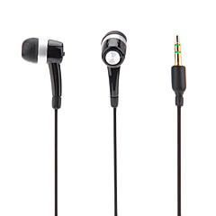 Intra-auriculaire casque pour ipod / ipad / iphone / mp3 (noir)