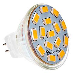 cheap LED Bulbs-SENCART 5W 450-500lm G4 LED Spotlight MR11 15 LED Beads SMD 5730 Warm White / Cold White 24V