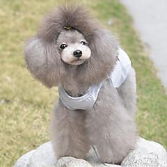 Gatto Cane T-shirt Abbigliamento per cani Romantico Casual Cuori Grigio Costume Per animali domestici