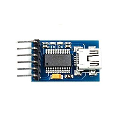 FT232RL USB to Serial 232 TTL Adapter Module for Funduino - Blue (3.3~5V)