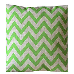 Ever Green Wave Stripe Διακοσμητικά Pillow με Insert