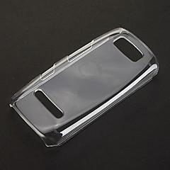 お買い得  Nokia ケース/カバー-ノキアアーシャ305のための純粋な柄の透明なプラスチックハード戻るケースカバー