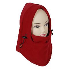 Unisex Outdoor Szélálló Red Polár Kerékpár Mask