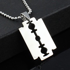 cheap Necklaces-Men's Stainless Steel Pendant Necklace - Unique Design Fashion Others Necklace For Christmas Gifts Party Gift Daily