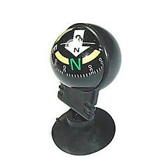 Mini Direcional Bússola de Viagem para Carro com Ventosa - Preto
