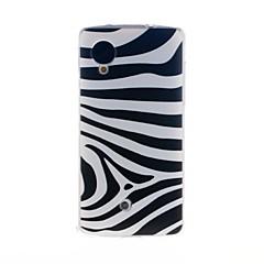 Για Θήκη LG Με σχέδια tok Πίσω Κάλυμμα tok Γραμμές / Κύματα Μαλακή TPU LG LG Nexus 5