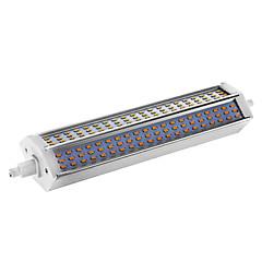 15W R7S LED kukorica izzók T 180 led SMD 3014 Tompítható Meleg fehér 650-680lm 2800-3003K AC 220-240V