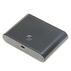 お買い得  モバイルバッテリー-iPhone / iPadと他人のために設定してアダプタと12000mahポータブルデュアルUSB電源銀行(5Vの1A / 2.1A、30ピン、アソートカラー)