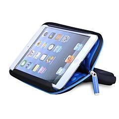 Amor Expresión Sólido Azul Color de neopreno antichoque del caso para el 7'' Tablet
