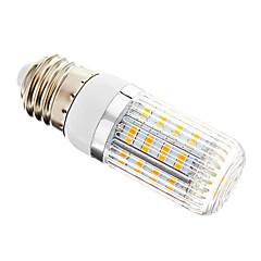 4W E14 GU10 E26/E27 Ampoules Maïs LED T 36 diodes électroluminescentes SMD 5730 Intensité Réglable Blanc Chaud 300lm 2700-3500K AC 100-240
