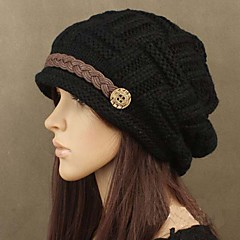 Informeel - Polyester Beanie / Slouchy - Dames