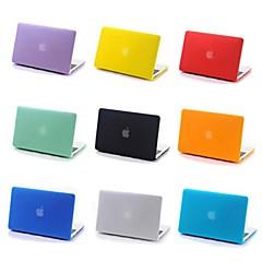 abordables Accesorios para Apple-MacBook Funda Un Color El plastico para MacBook Pro 15 Pulgadas / MacBook Pro 13 Pulgadas