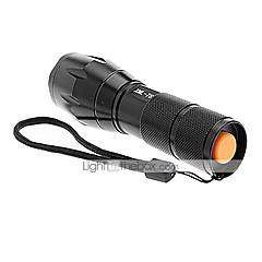 A100 LED-Zaklampen Handzaklampen Klemmen En Houders LED 2000/1200/1600 Lumens 5 Modus Cree XM-L T6 1 x 18650 batterij Antislip-handgreep