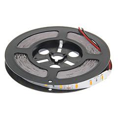 preiswerte LED Lichtstreifen-ZDM® 5m Flexible LED-Leuchtstreifen 300 LEDs 5730 SMD Warmes Weiß Schneidbar / Verbindbar / Für Fahrzeuge geeignet 12 V 1pc / Selbstklebend