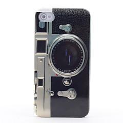 Недорогие Кейсы для iPhone 4s / 4-Ретро модель камеры зеркало жесткий футляр для iphone 4 и 4S (многоцветные)