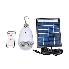2W 원격 제어 태양 광 조명 시스템 휴대 전화 충전 USB 출력 22-LED