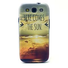 Voor Samsung Galaxy hoesje Patroon hoesje Achterkantje hoesje Landschap PC Samsung S3
