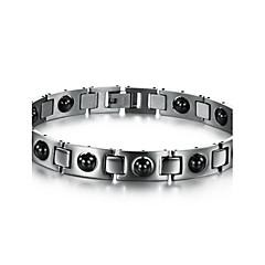 preiswerte Armbänder-Herrn Manschetten-Armbänder / Tennis Armbänder - Einzigartiges Design, Modisch Armbänder Silber Für Weihnachts Geschenke / Hochzeit / Party