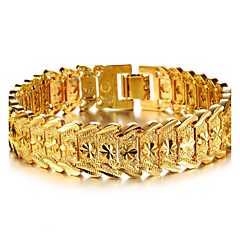 cheap Bracelets-Women's Gold Plated Cuff Bracelet Bracelet - Stylish Bracelet For Wedding Party Event / Party Dailywear Daily Casual