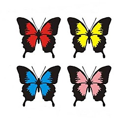 mode vlinder kras auto stickers