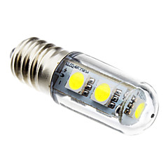 E14 LED a pannocchia 7 leds SMD 5050 Decorativo Bianco 80lm 6000K AC 220-240V