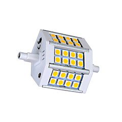 R7S LED Corn Lights T 24 SMD 5050 330lm Warm White Cold White 3000K AC 85-265V
