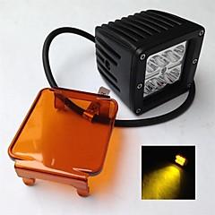 abordables Iluminación para Vehículos Industriales-18w 12 / 24v CREEChip llevó la luz del trabajo llevó 814 para los coches o camiones