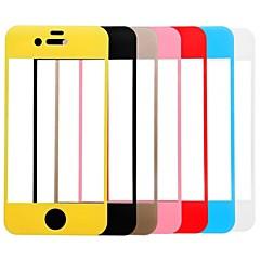 tanie iPhone 4s / 4: folie ochronne-Link sen kolorowy ekran premii szkło hartowane ochraniacz z uchwytem do iPhone 4 / 4s