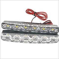 preiswerte LED-Birnen-2pcs Auto Leuchtbirnen 3W SMD LED- 90lm 6 LED Tagfahrlicht