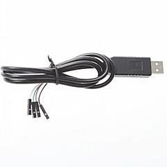 아두 이노에 대한의 USB TTL 업로드 다운로드 와이어 pl2303hx