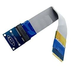 preiswerte Kabel & Adapter-flexible Mini-PCI-Express-Mini-PCI-E-Karte Extender 52pin männlich zu weiblich Verlängerungs FFC-Kabel