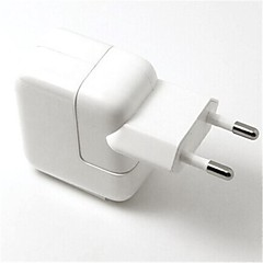 EU Plug USB Port Travel AC Charger  with 8-Pin Charging Sync Data Cable for iPhone 5/5S iPad mini/Air (110V-240V,2.1A)