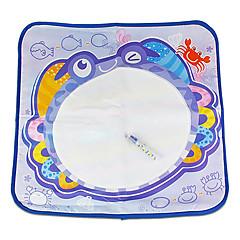 花のおもちゃノベルティおもちゃで72 * 63 * 1センチメートル子供のクジラ/カニパターンaquadoodle