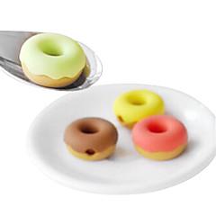 preiswerte Kabel & Adapter-Donuts Stil Ohrhörer Kabelaufwicklung (zufällige Farbe)
