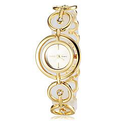 お買い得  レディース腕時計-女性用 日本産クォーツ バンド ブレスレット シルバー ゴールド ブロンズ