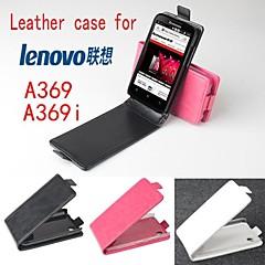 용 레노보 케이스 플립 케이스 풀 바디 케이스 단색 하드 인조 가죽 Lenovo