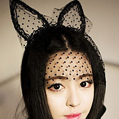 Mulheres Tule Capacete-Ocasião Especial Véus de Rede Máscaras
