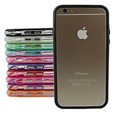 защитный чехол ТПУ бампер рамка для iPhone 6 Plus (разных цветов)
