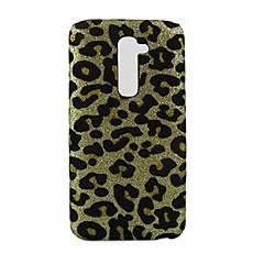 leopard print design pattern hard case voor lg g2 cases / hoezen voor lg