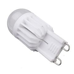 abordables Bulk Bombillas LED-5W G9 Bombillas LED de Mazorca T 2 leds COB Regulable Blanco Cálido 400-450lm 2800-3200K AC 100-240V