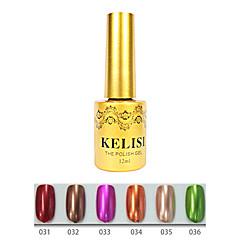 abordables Arte de Uñas Frutal-Gel UV para esmalte de uñas 12 1 Metálico Esmalte Gel UV de Color Empapa de Larga Duración